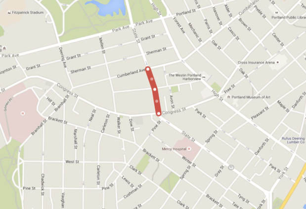 West End News: State Street Traffic Alert Map