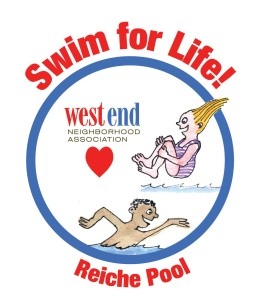 West End News: Reiche Swimming: Swim for Life logo