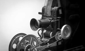 West End News: Movies Return: Film projector