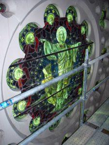 West End News: St. Luke's rose window