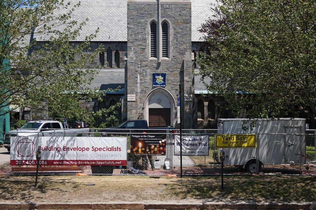 West End News: St. Luke's renovations