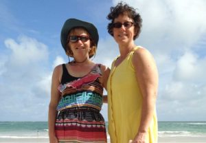 West End News - Travel Adviser Nancy Dorrans with friend Anne at Galapagos