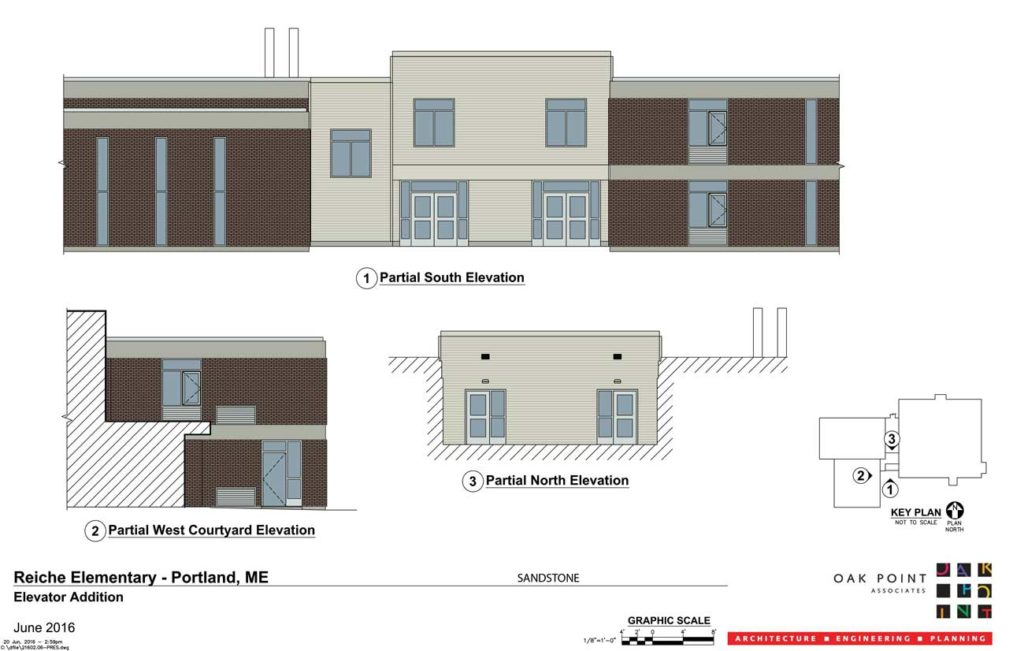 West End News - Reiche Entrance - Elevations for new entrance