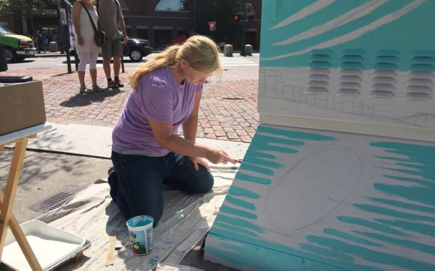 Artists Begin Work on Enhanced Utility Boxes