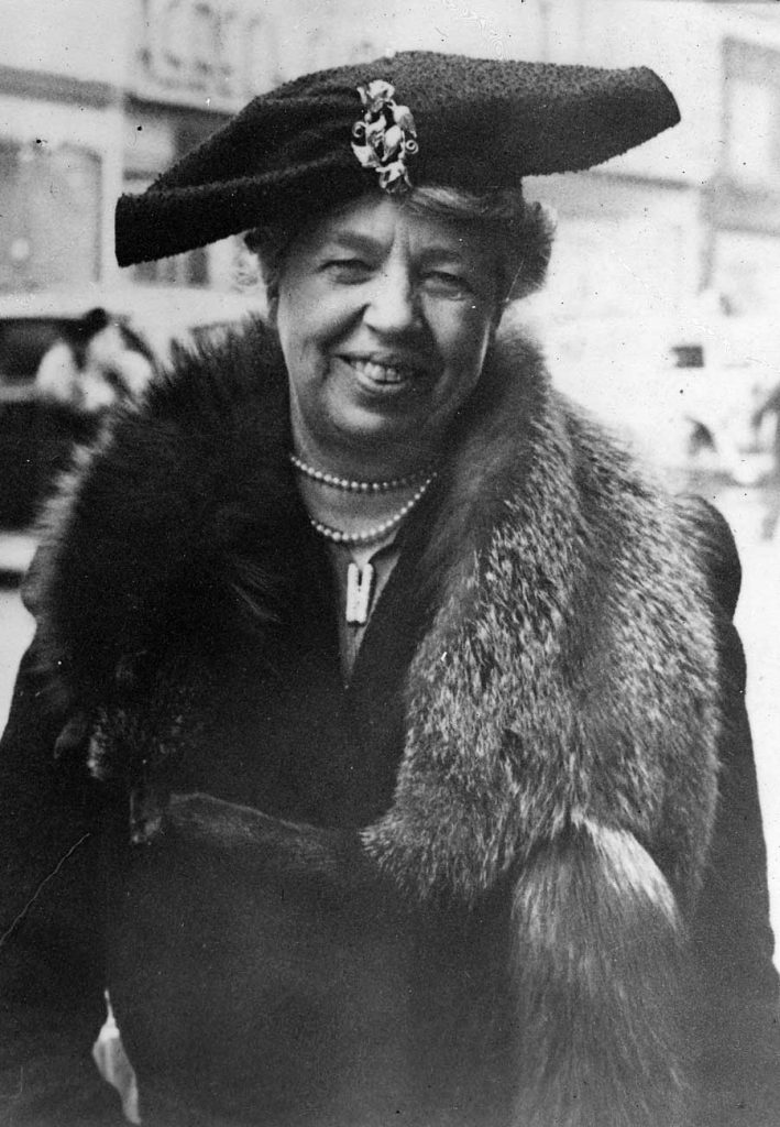 West End News - Eleanor Roosevelt in NYC