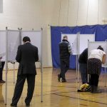 West End News - Referendum Questions - Voters at booth