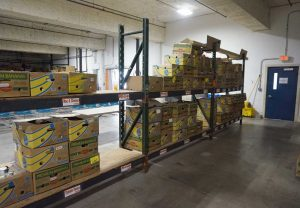 West ENd News - Rescued Food - Wayside's warehouse