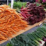 West End News - Winter Farmers' Market - Root veggies at market