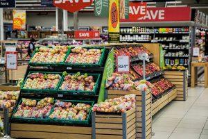 West End News - Food Choices - market ailse