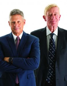 West End News - Gary Johnson and Bill Weld