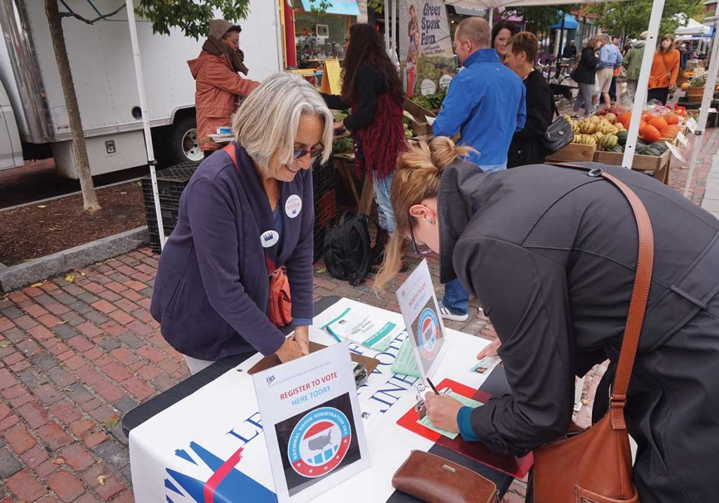 West End News - League of Women Voters - Voter registration