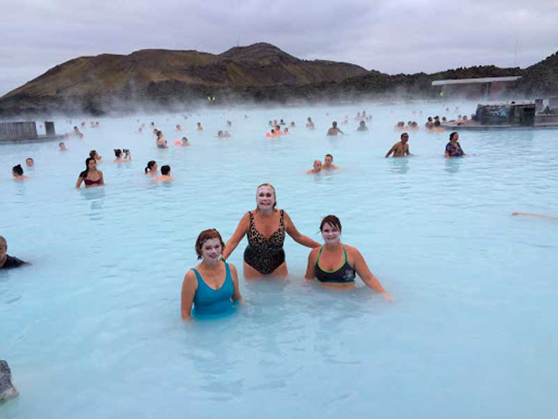 West End News - Embracing warmth - geothermal pool Iceland