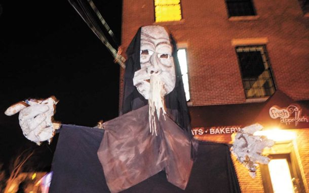 Halloween Parade Draws Big Crowds
