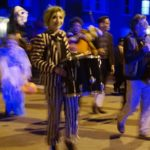West End News - Halloween Parade - Beetlejuice drummer