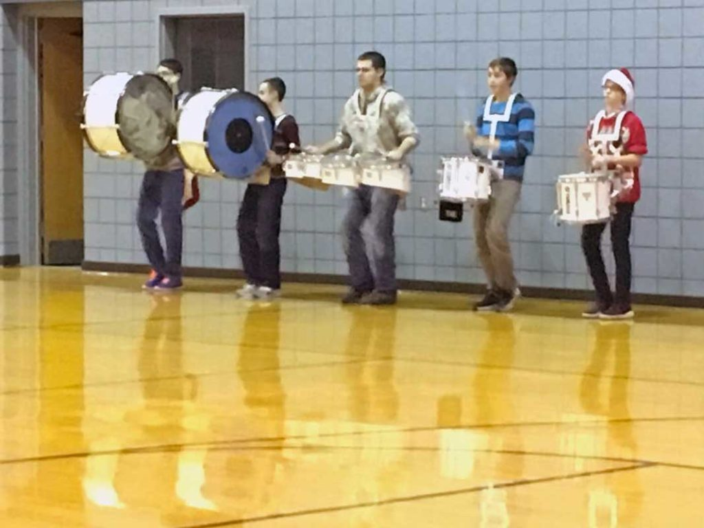 West End News - Madawaska Band - Drum line