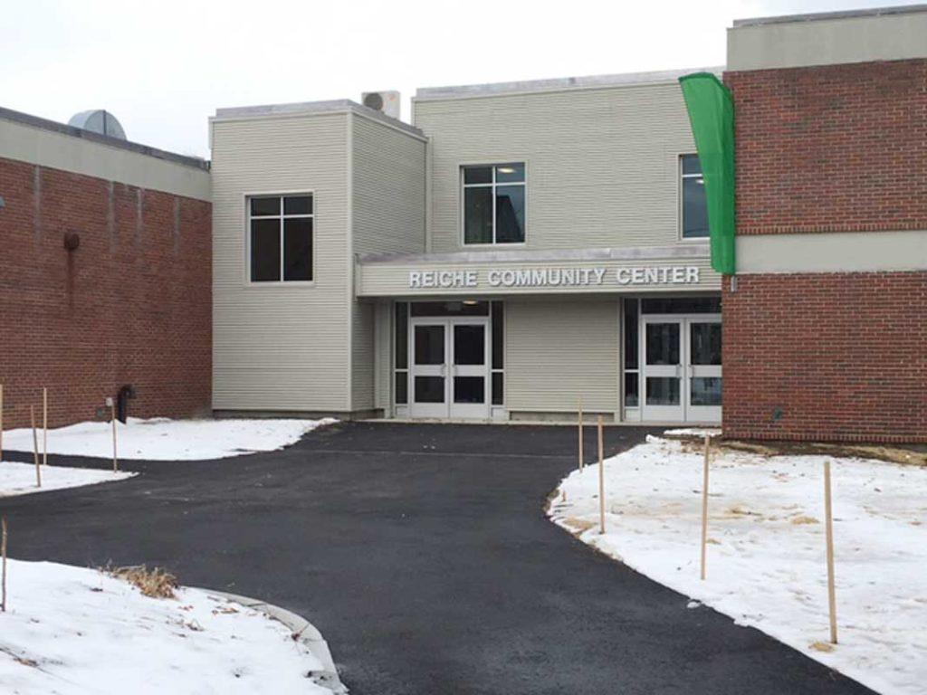 West End News - Reiche Community Center Clark Street entrance
