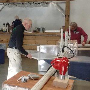 West End News - Window Dressers - Community Build at Allagash Brewing
