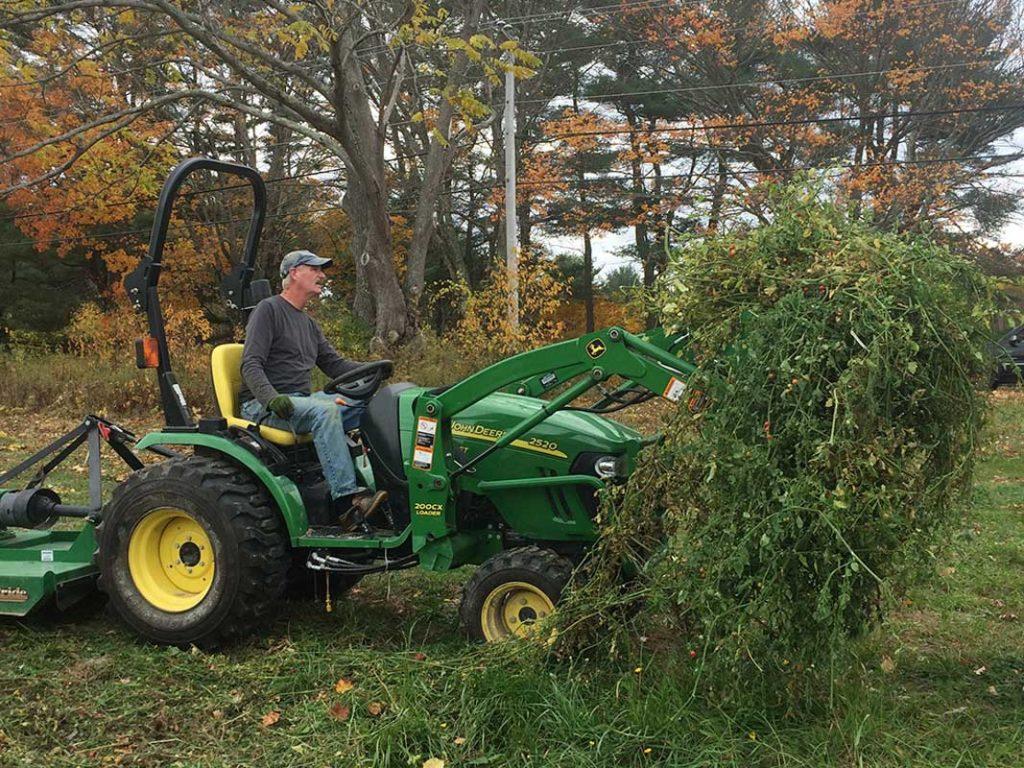 West End News - Gary at Work at Replenova Farm