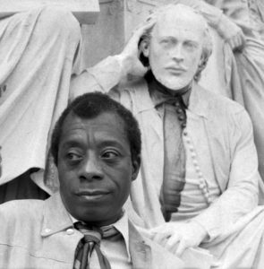 West End News - James Baldwin with Shakespeare by Allan Warren