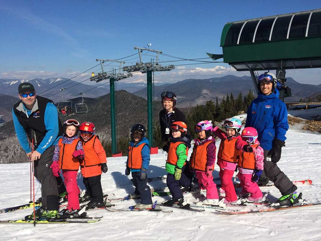 West End NEws - Sunny Side posts - NE Disabled Sports group photo at Loon Mountain