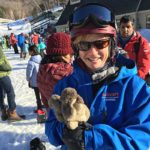 West End News - Sunny Side Posts - Nancy Dorrans at Loon Mountain