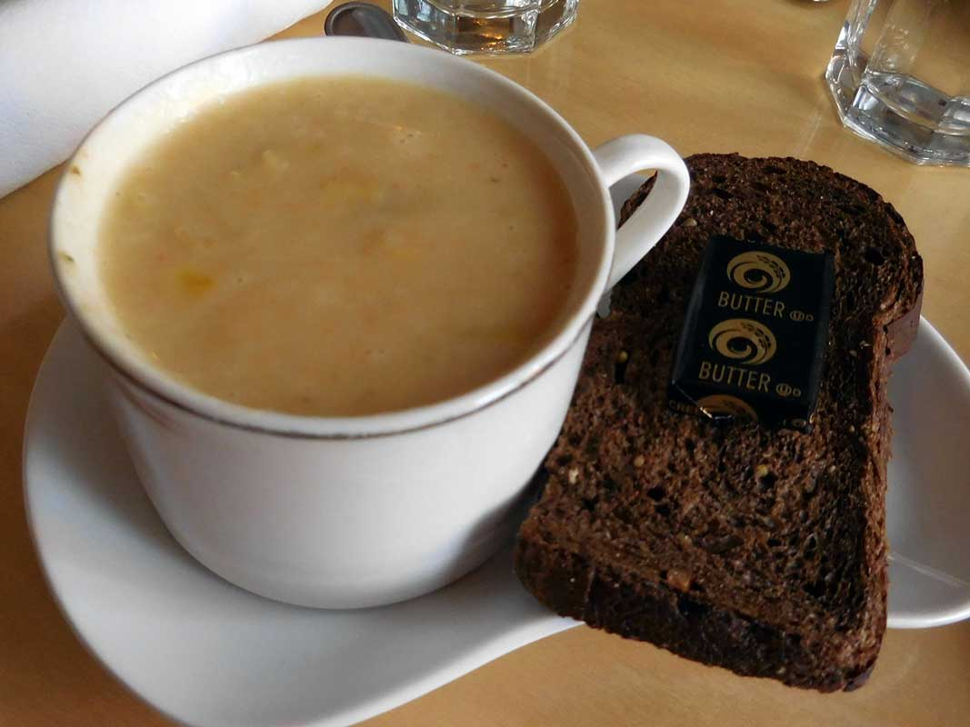 West End News - Artemisia - Soup and bread