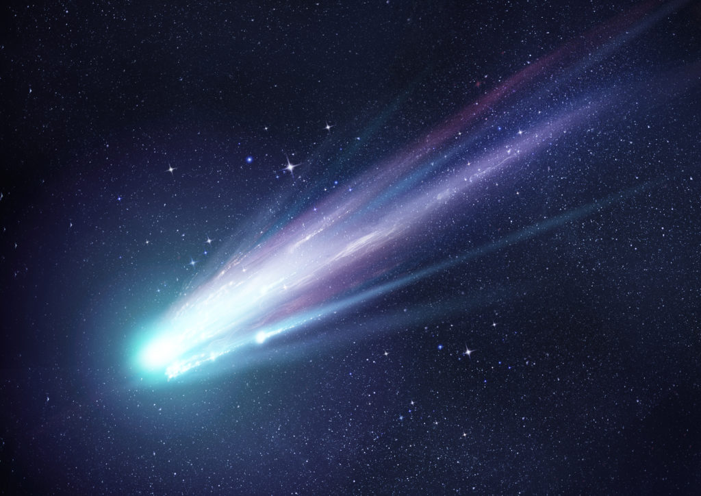 West End News - Improved World - Comet nearing Earth