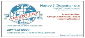 West End News - Adventure Marketplace Business Card