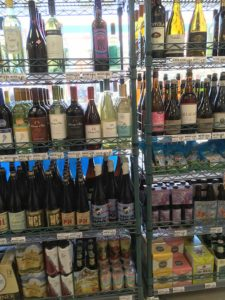West End News - West End Markets - The Overlooked - Wine selection at 711 by Alex Landry