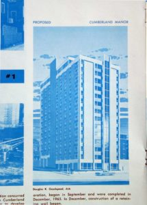 West End News - Bayside Postwar Blues - Downtown Project #1 Never Built