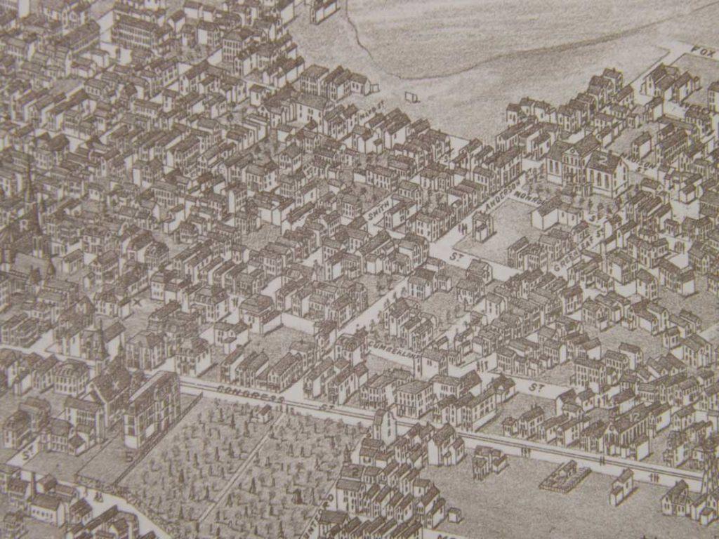West End News - Bayside Past - illustration by Stoner and Warner