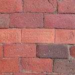 West End News - Public art brick stolen