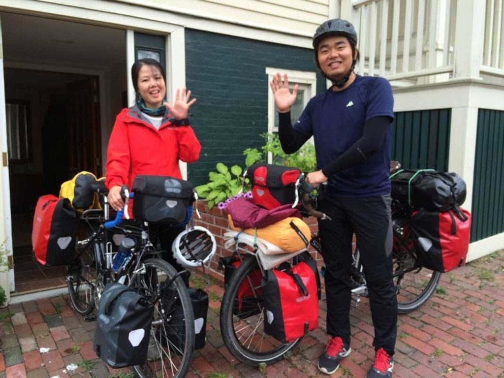 West End News - Biking Basics - Visitors from South Korea