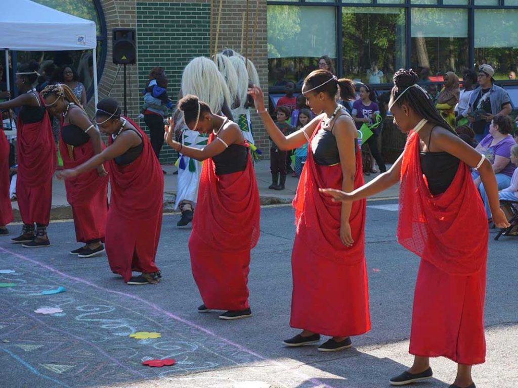 West ENd News World Refugee Day Ikirenga group