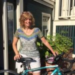 West End News - Biking Basics - Nancy with her bike