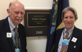 Two West Enders Go to DC to Lobby for Carbon Fee and Dividend
