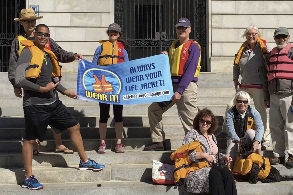 West End News - Water Safety - Life Jacket World Record Day