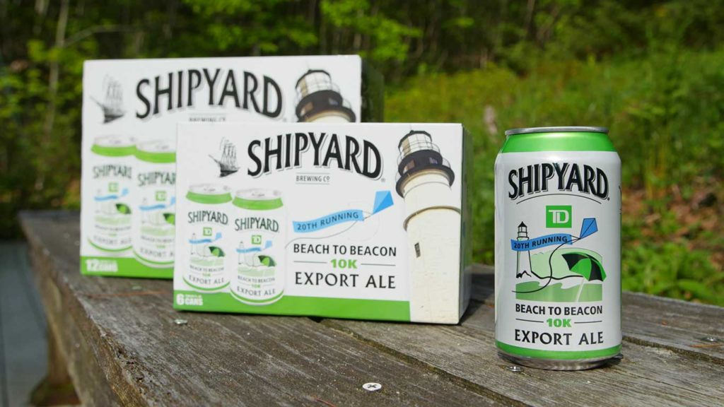 West End News - Beach to Beacon Inspire Shipyard - Commemorative cans