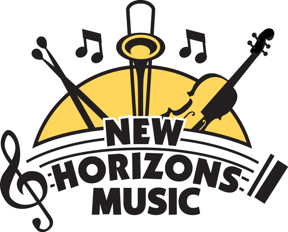 new horizons adult concert band i m glad i joined the west end news rh thewestendnews com create your own metal band logo make your own band logo online for free
