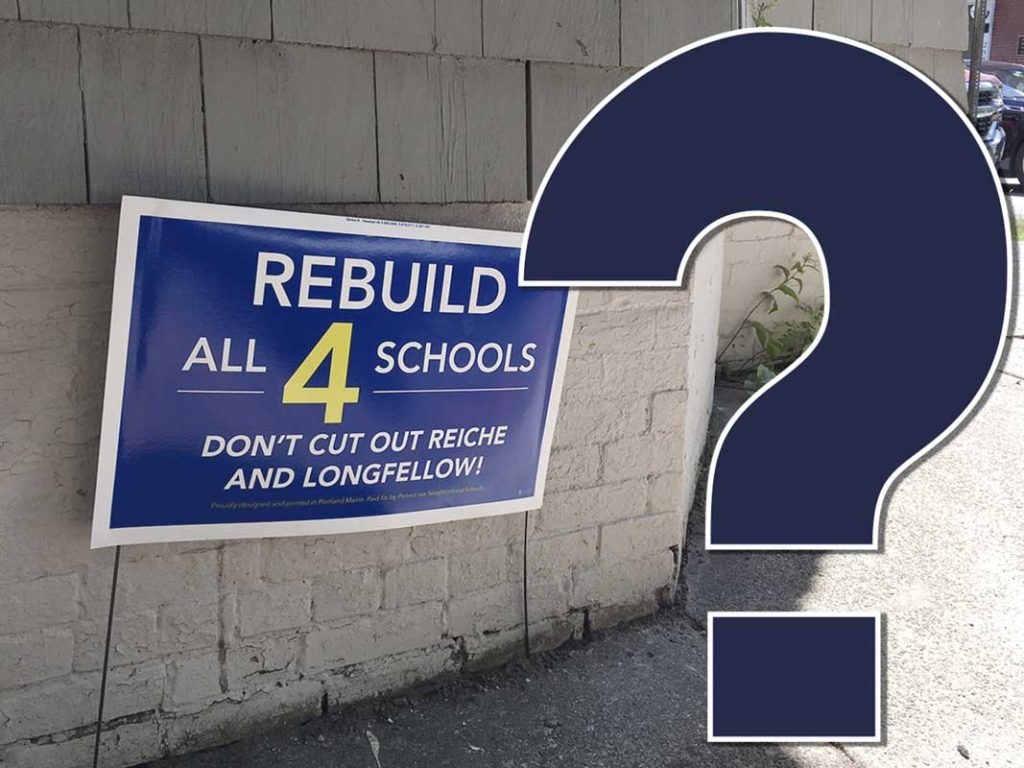 West End News - Rebuild All 4 Schools ?
