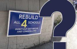 Rebuild All 4 Schools? Make An Informed Choice