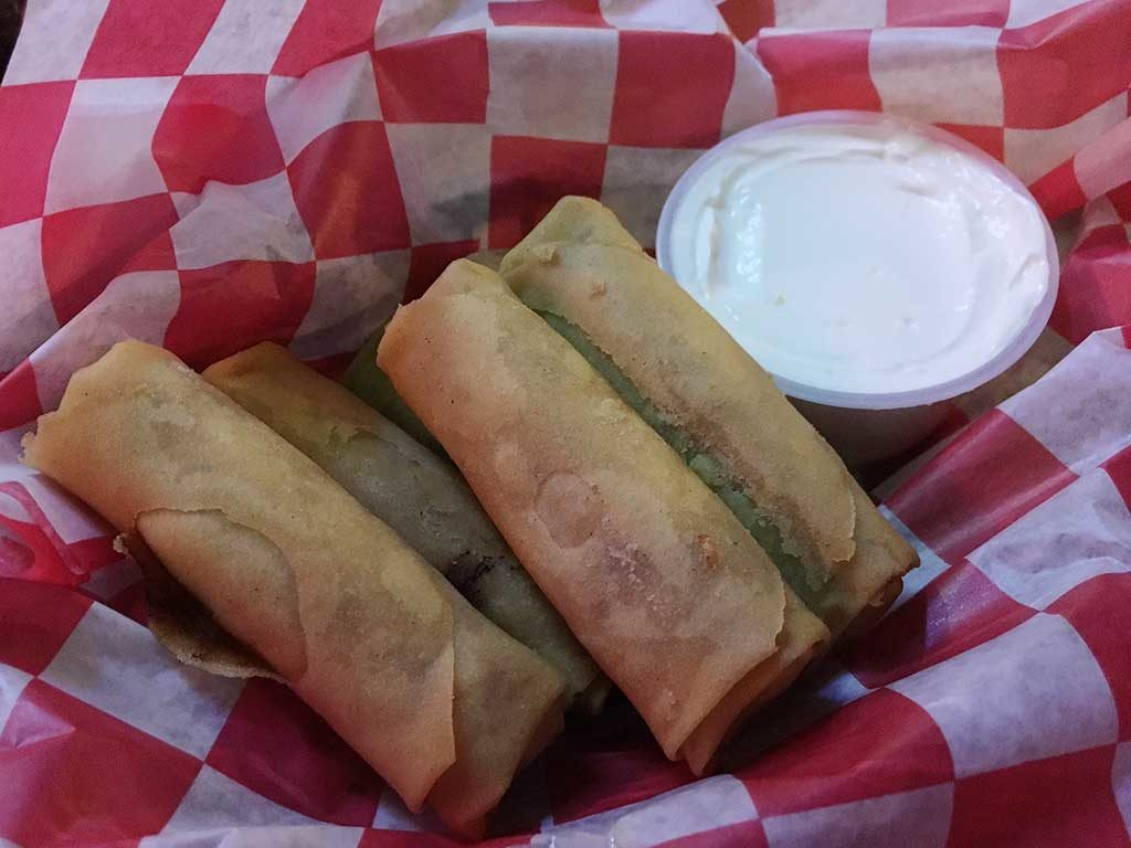 West End News - Ruski's Review - Egg rolls