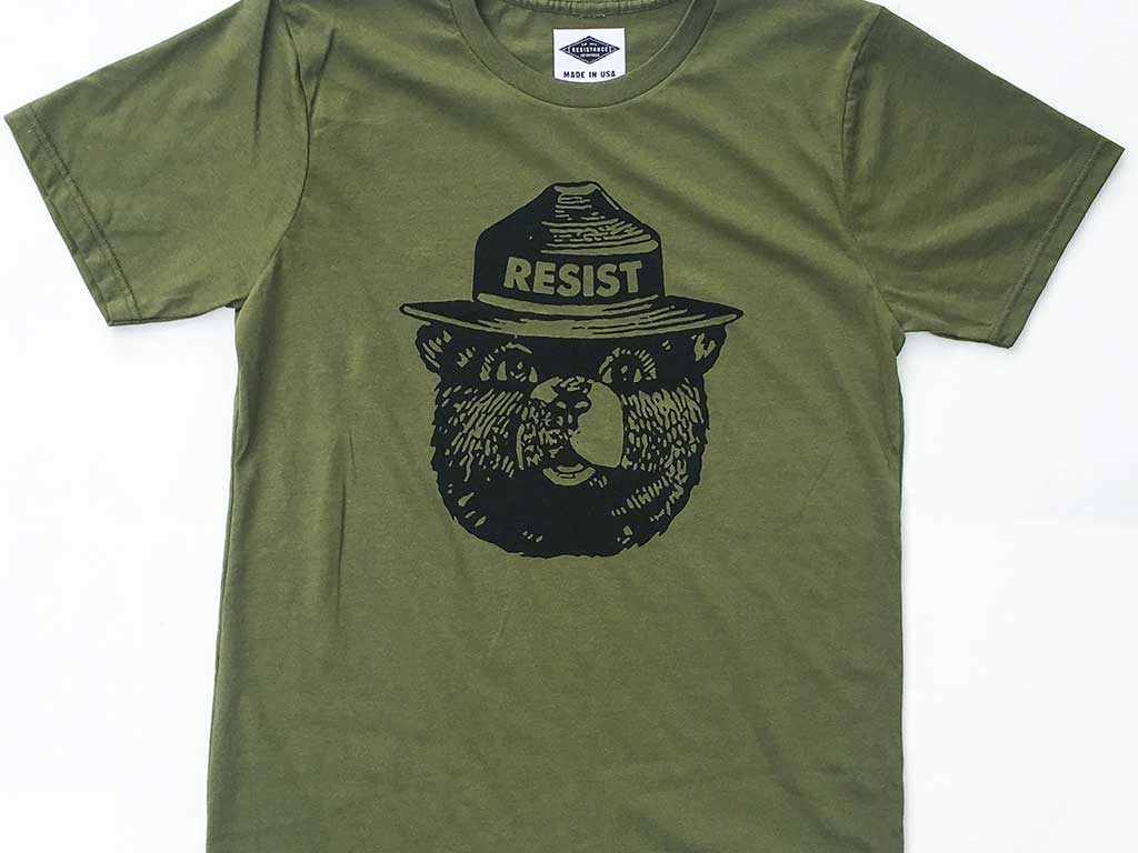 West End News - Wells Lyons Resistance Enterprises - Smokey Bear design