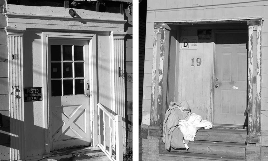 West End News - Trim Snatchers - Two Chesnut St Doorways