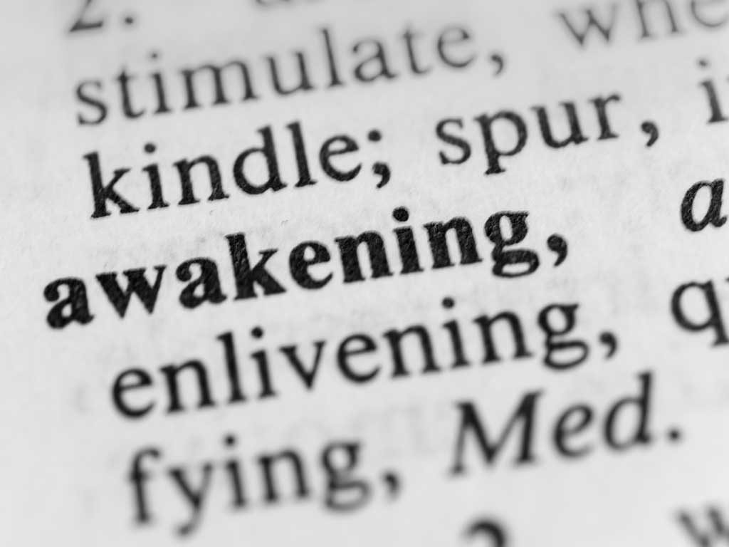 West End News - Astrological Forecast October 2017 - Awakening word graphic