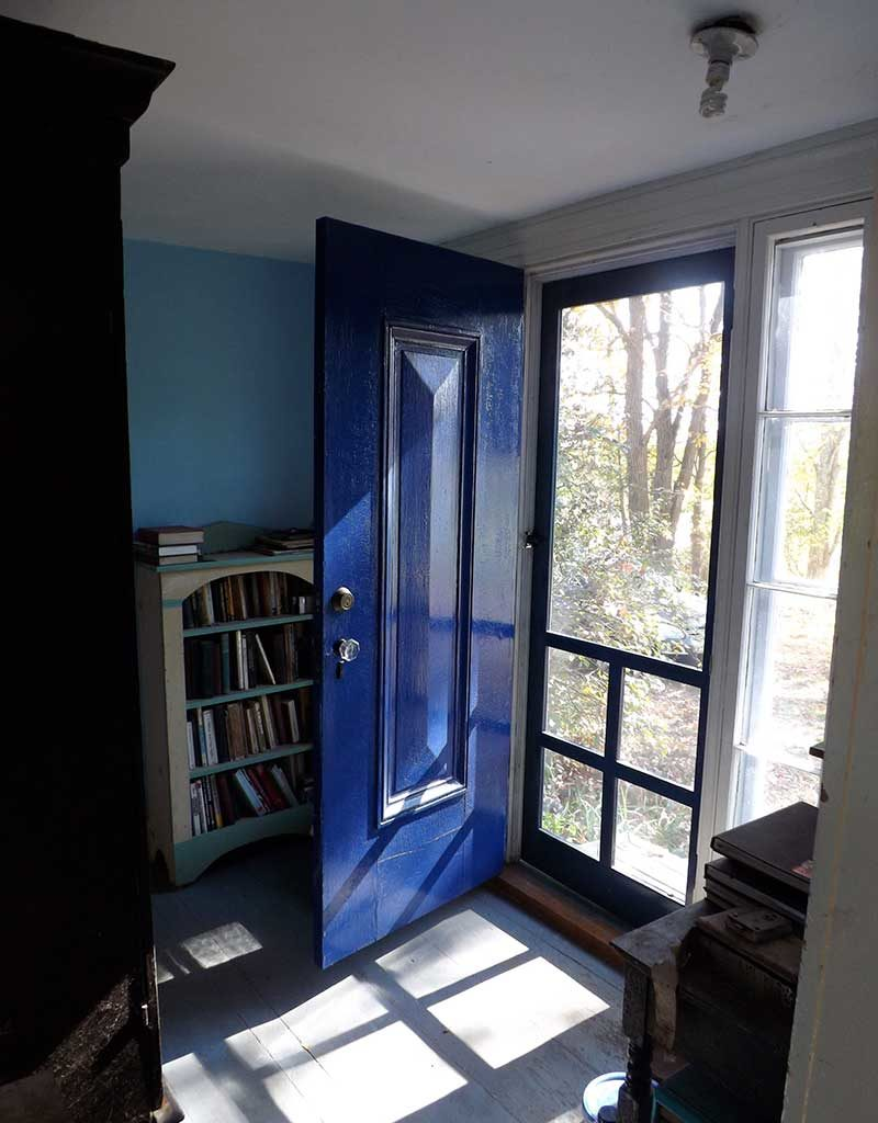 West End News - Architectural Salvage - Blue Door