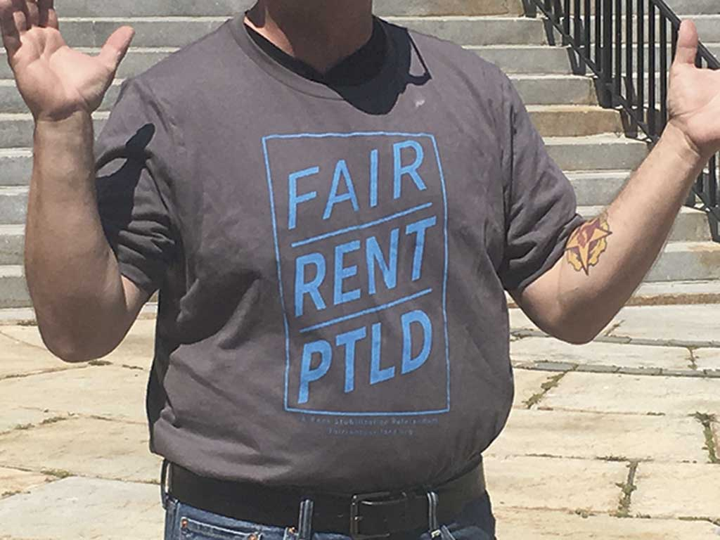 West End News - Rent Stabilization - Fair Rent Tshirt