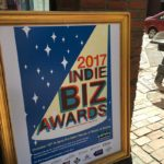 West End News - Indie Biz Award Winners - Sign outside Portland House of Music