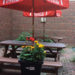 West End News - Pavilion Grill Coffee Shop - Outdoor seating