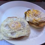 West End News - Pavilion Grill - Eggs on english muffin